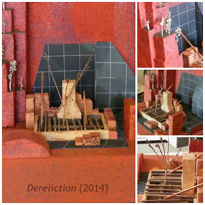 John Webb diorama: Dereliction (2014)