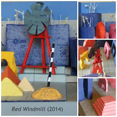 John Webb Diorama: Red Windmill (2014)