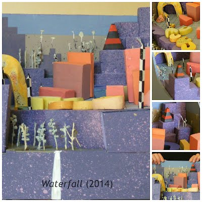 John Webb Diorama: Waterfall (2014)