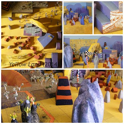 John Webb Diorama: Yellow Land (2014)