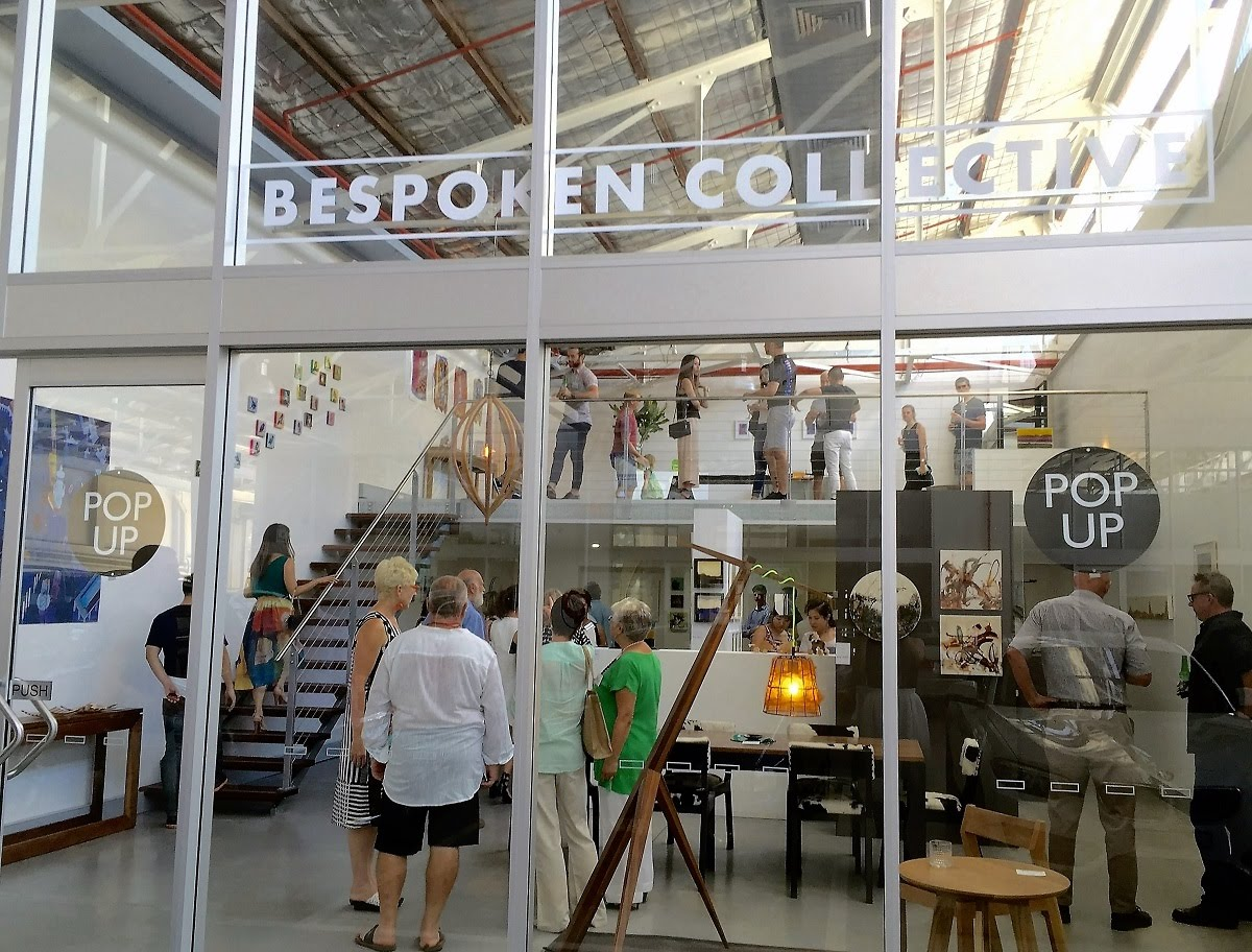 Bespoken Collective Pop Ups store (March 2016)